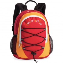 Fabrizio Kinderrucksack junior active Rot