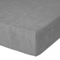 Fixleintuch Spannbetttuch Frottee 70x140 cm Grau 20