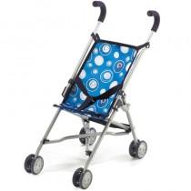 Bayer Sieglinde Mini-Puppenbuggy Roma Blau