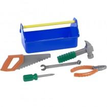 Outdoor active Kinder Werkzeugkiste mit Werkzeug 6-teilig