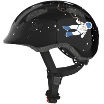 ABUS Kinder Fahrradhelm Smiley 2.0 Grösse M 50-55 cm black space