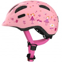 ABUS Kinder Fahrradhelm Smiley 2.0 Grösse M 50-55 cm rose princess