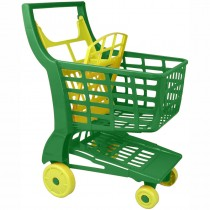 Einkaufswagen aus Kunststoff grün