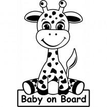 Baby Autoaufkleber BS171