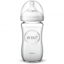 Philips Avent Natural Babyflasche aus Glas 240ml