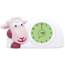 ZAZU Schlaftrainer Schaf SAM Wecker und Nachtlich Pink