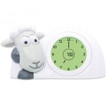 ZAZU Schlaftrainer Schaf SAM Wecker und Nachtlich Grau