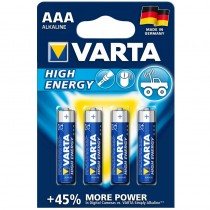 Varta High Energy Micro AAA Batterie 4er Pack