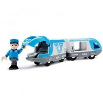 BRIO Bahn Blauer Reisezug Batteriebetrieb 33506