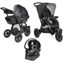 Chicco Trio Activ3 Top Jet Black
