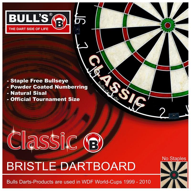 Bulls Classic Bristle Dartboard Dartscheibe
