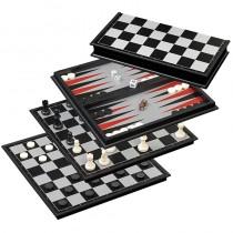 Philos Schach Backgammon Dame-Set