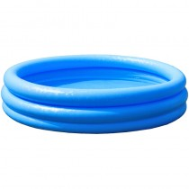 Pool 3-Ring Crystalblue 147x33 cm