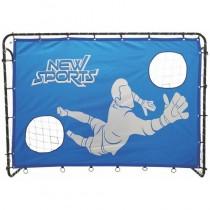 New Sports Fussballtor mit Torwand 213 x 152 x 76 cm