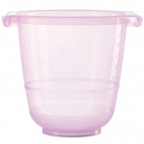 Tummy Tub Badeeimer Original Rosa Transparent