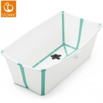 Stokke Flexi Bath Bundle White Aqua Badewanne
