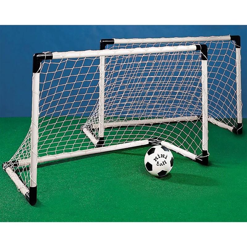 Goal Set 2 Mini-Tore Fussballtore mit Ball