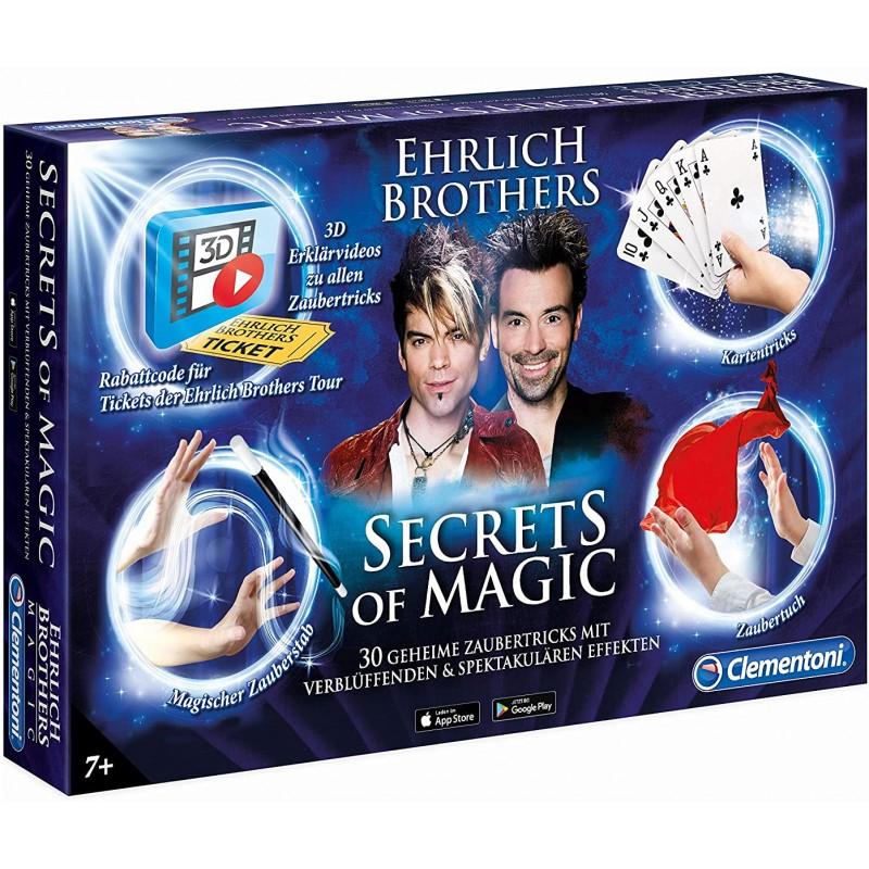 Clementoni Ehrlich Brothers Secrets of Magic Zauberkasten