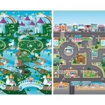 Prince Lionheart Spielmatte Playmat Stadt und Ritter & Prinzessin