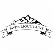 Aufkleber Swiss Mountains