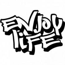 Aufkleber Enjoy Life V6
