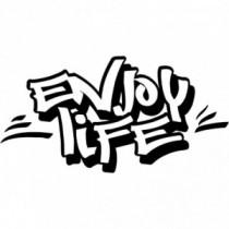 Aufkleber Enjoy Life V5