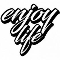 Aufkleber Enjoy Life V4