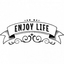 Aufkleber Enjoy Life V2