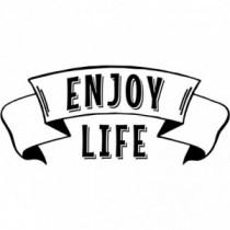 Aufkleber Enjoy Life V1