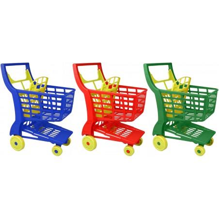 Einkaufswagen aus Kunststoff