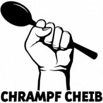 Aufkleber Chrampf Cheib V6