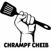 Aufkleber Chrampf Cheib V5