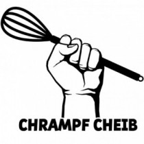 Aufkleber Chrampf Cheib V4