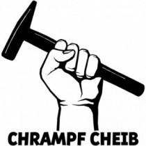 Aufkleber Chrampf Cheib V2