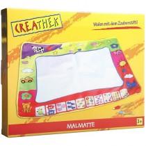 Creathek Malmatte mit 2 Stiften 80x60 cm