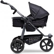 TFK Mono mit Luftkammerrad Schwarz Kinderwagen