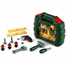 Theo Klein Werkzeugkoffer-Set Bosch 12-teilig mit Ixolino II-Akkuschrauber 8346