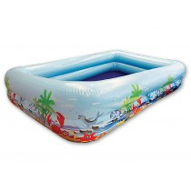 Splash & Fun Beach-Fun Jumbo Pool 254 x 160 x 48 cm