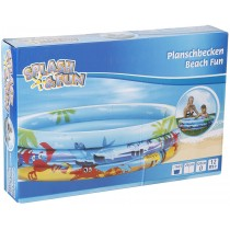 Splash & Fun Planschbecken Beach Fun 120 cm