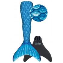 FinFun Meerjungfrau Mermaidens Meerjungfrauflosse Blau