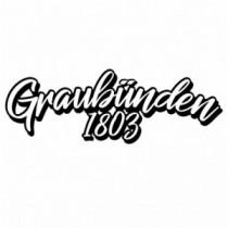 Aufkleber Graubünden 1803 V4