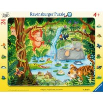 Ravensburger Kinderpuzzle Dschungelbewohner