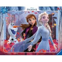 Ravensburger Kinderpuzzle Frozen Magische Natur 35 Teile
