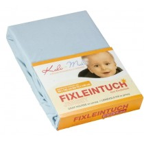 Kuli-Muli Fixleintuch Jersey 45x90 cm Baby blau