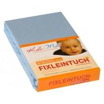 Kuli-Muli Fixleintuch Frottee 45x90 cm Hellblau