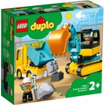 LEGO Duplo Bagger und Laster 10931