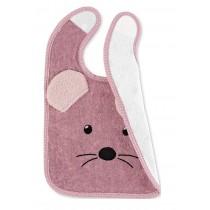 Sterntaler Klettlätzchen mit wasserundurchlässiger Einlage Maus Mabel