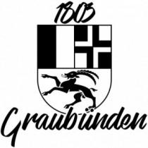 Aufkleber Kanton Graubünden...