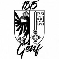 Aufkleber Kanton Genf 1815