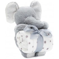 Fillikid Plüschtier Set Elefant mit Decke